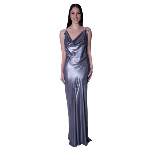 TWENTY-29 EVENING GLAMOROUS LONG DRESS 21067676628  ΑΣΗΜΙ