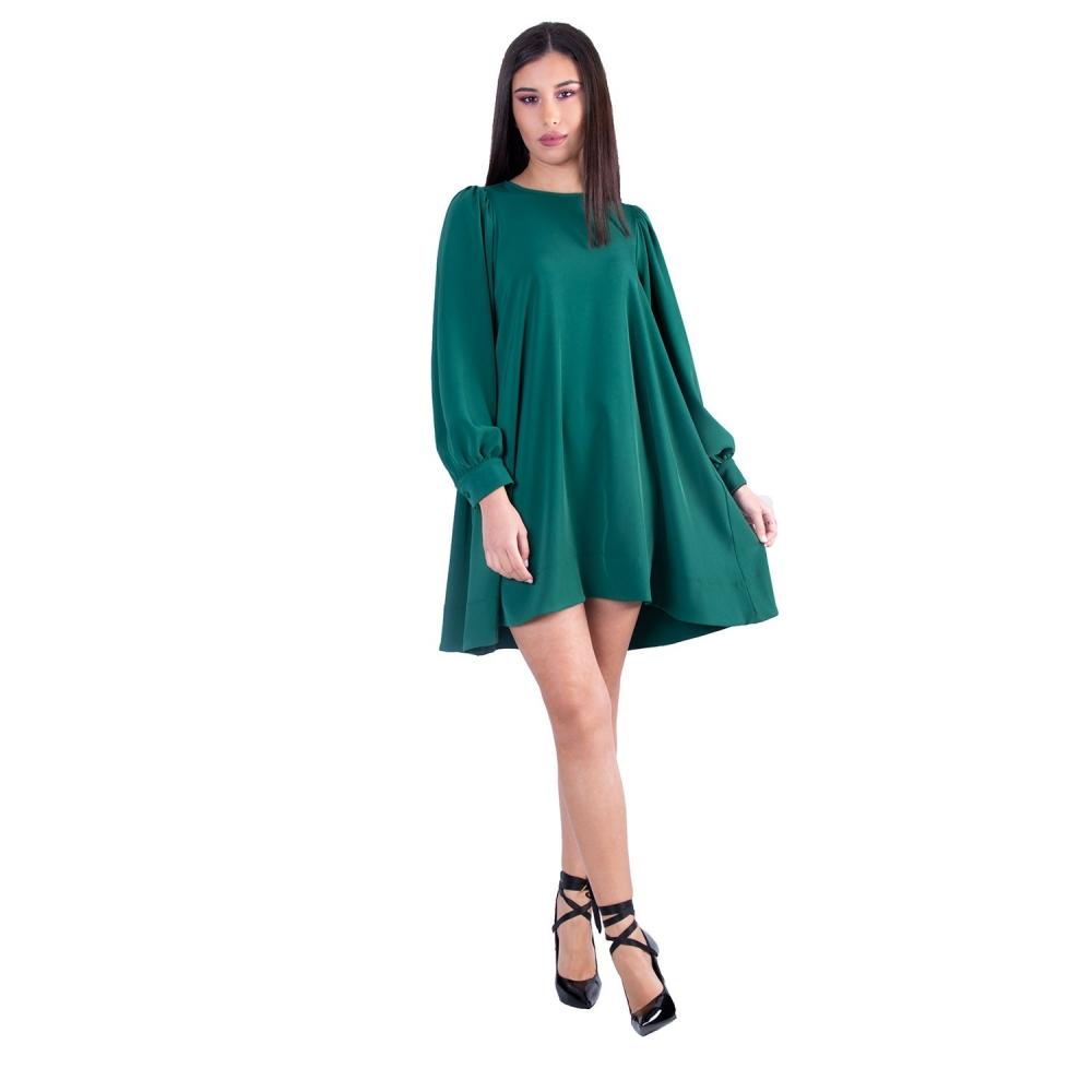MOTEL GREEN MINI DRESS  AI201017 GREEN